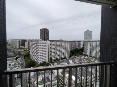 最上階からの眺望は綺麗。陽当たりも良いです!