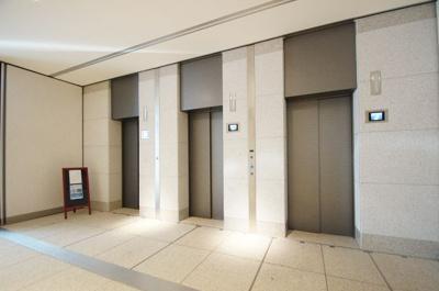 共用部分・エレベーターホールです
