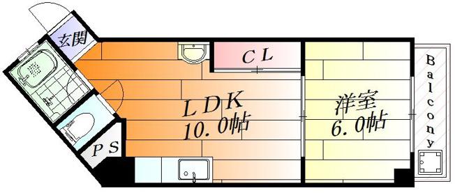 和室から洋室に大変身した1LDK
