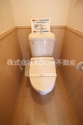 【トイレ】フローラルビレッジ Ⅱ号館