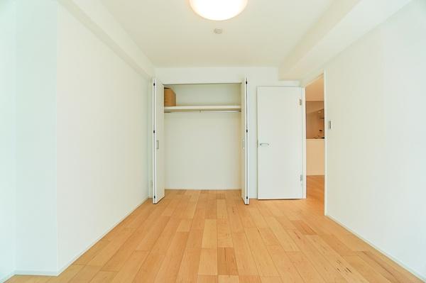 大容量の収納スペース! 収納が多いと、お部屋の中を広く使えます