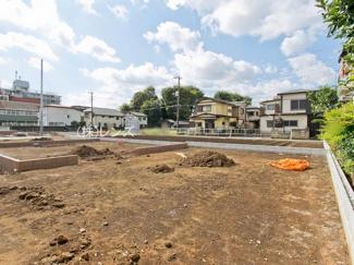 3区画:土地面積115m2、お好きな工務店で建築可能
