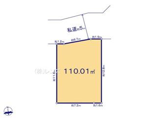 19区画:土地面積110.01m2、お好きな工務店で建築可能