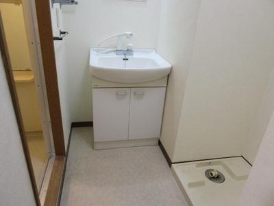 【洗面所】グレイス第8マンション