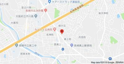 【地図】ラ・レモンドB棟