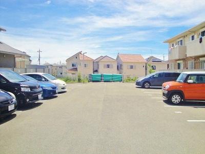 駐車場部分です。