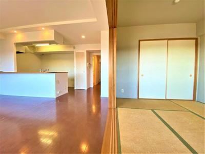 【居間・リビング】A252 レーヴステージ武蔵砂川