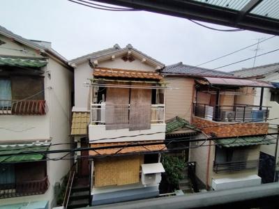 3階バルコニーからの眺望です。