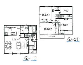 ②参考:延床面積87.48平米、建物価格1,310万円