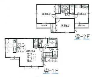 ④参考:延床面積87.48平米、建物価格1,310万円