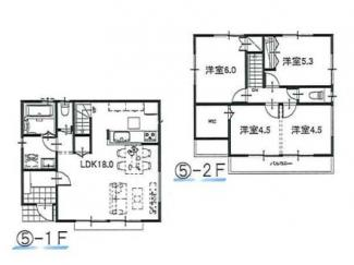 ⑤参考:延床面積87.48平米、建物価格1,310万円