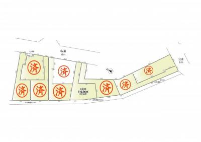 【外観】練馬区田柄4丁目 全9棟の新築分譲住宅