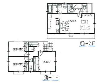 ⑩参考:延床面積87.48平米、建物価格1,310万円