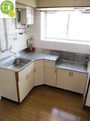 【キッチン】ハーバービューマンション