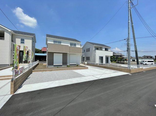 【駐車場】高崎市北原町 新築物件 2号棟