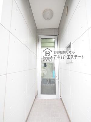 【エントランス】シャンテお花茶屋