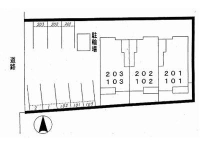 【区画図】アメニティカスガV