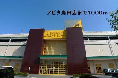 アピタ島田店まで1000m