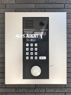 TVモニター付オートロックインターフォン