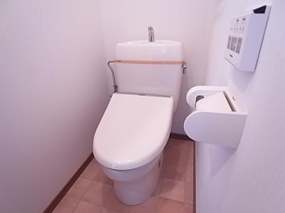 【トイレ】クレールベルヴィル立花B棟