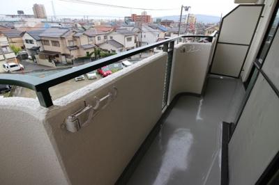 【バルコニー】ハッピーコート大蔵谷駅前