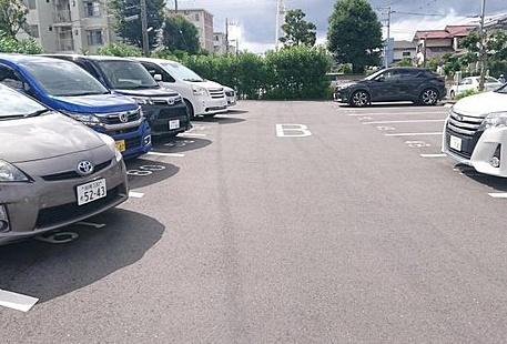【駐車場】湘南ライフタウン羽根沢第1住宅7号棟