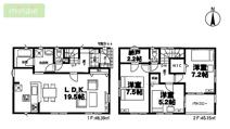 WIC 納戸 八千代市大和田新田第28 全2棟 1号棟の画像