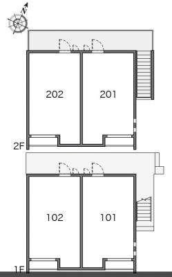 【区画図】クレイノN tray