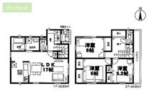 WIC 納戸 八千代市大和田新田第28 全2棟 2号棟の画像
