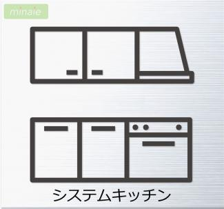 【キッチン】WIC 納戸 八千代市大和田新田第28 全2棟 2号棟