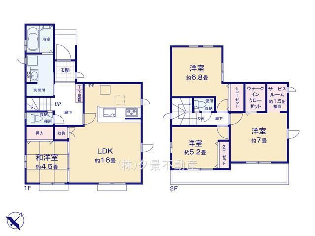 西区大字土屋1672-19(2号棟)新築一戸建てグラファーレ