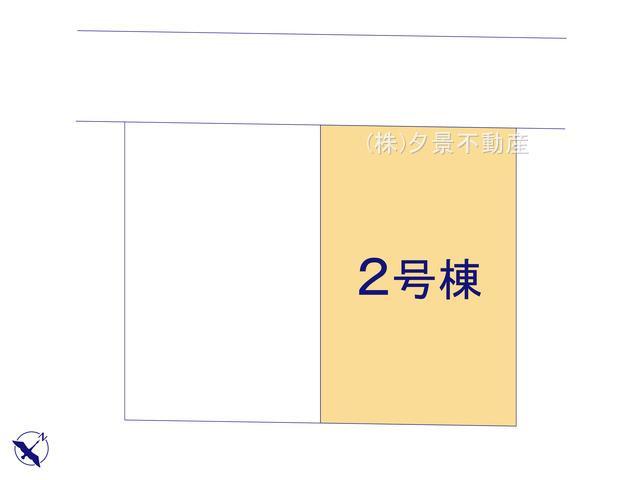 【区画図】西区大字土屋1672-19(2号棟)新築一戸建てグラファーレ