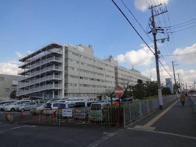 大阪労災病院 366m