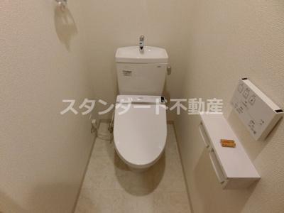 【トイレ】アミティエ扇町リアン