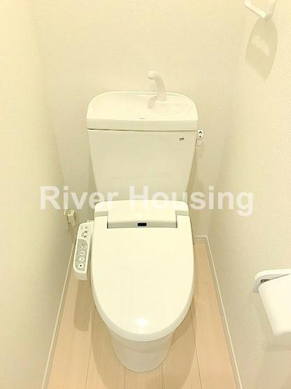 【トイレ】リバーレジデンス