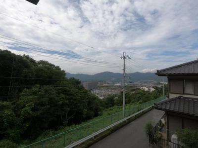 高台にあるので、眺望良好です。綺麗な街並みを見渡すことができます