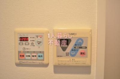 浴室乾燥機と給湯設備