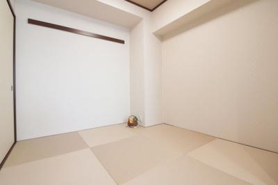 明るいきれいな和室です。