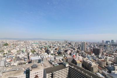 物件からの眺望です。31階部分からなのでとても見晴らしが良いです。