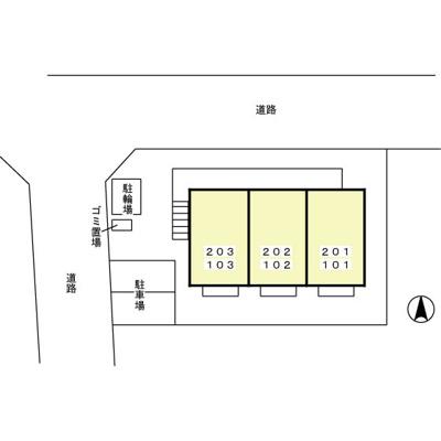 【区画図】ラフォーレ壱番館