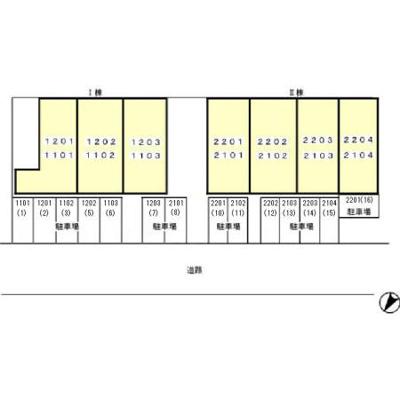 【区画図】グランパティオ Ⅰ・Ⅱ