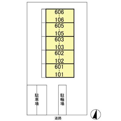 【区画図】ポワール・K