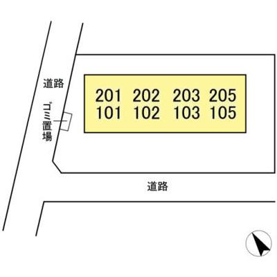 【区画図】フラワーパレス