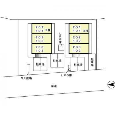 【区画図】セジュールM・Y Ⅱ
