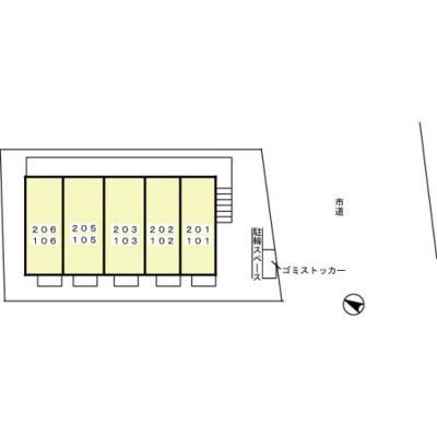 【区画図】クレール上本郷