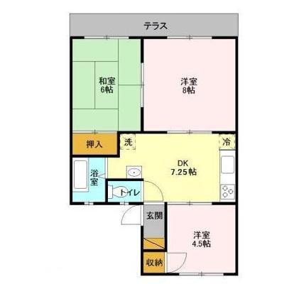 【区画図】神取ハイツ