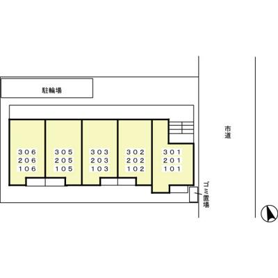 【区画図】アプローズ馬橋