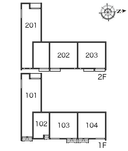 【玄関】ルミネスⅡ