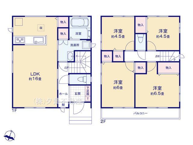 桜区大字白鍬99-5(C号棟)新築一戸建てハートフルタウン