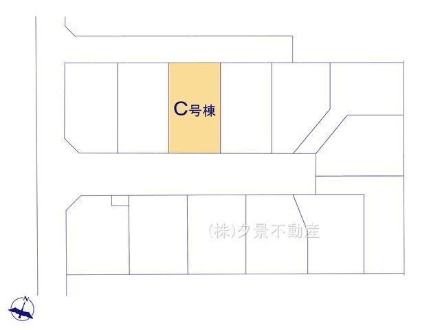 【区画図】桜区大字白鍬99-5(C号棟)新築一戸建てハートフルタウン